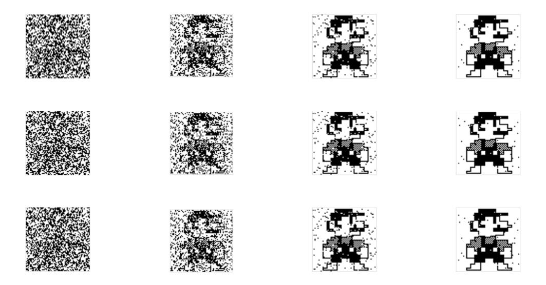 A screenshot of the Genetic Bitmap experiment