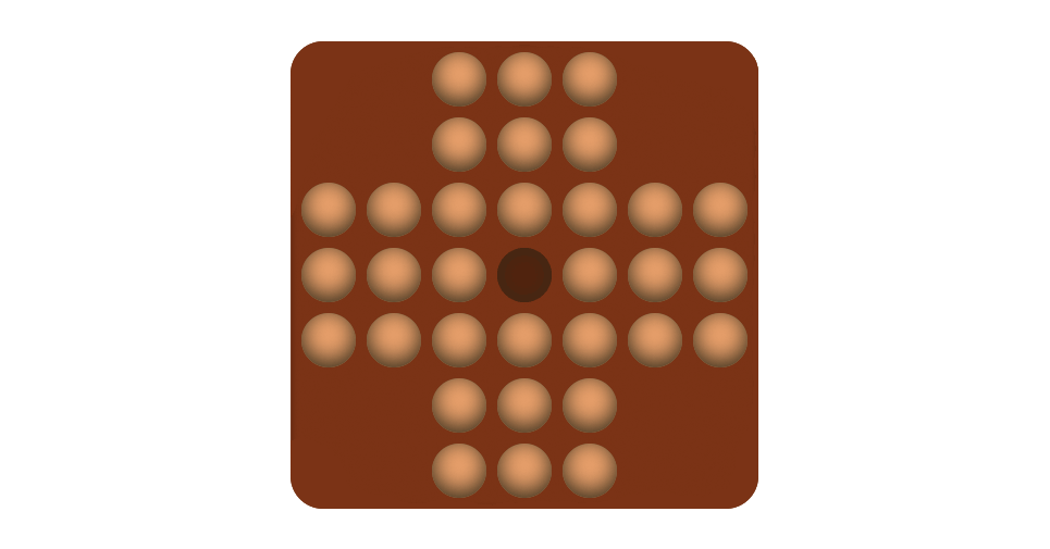 A screenshot of the Peg Game* experiment